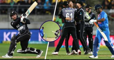 New Zealand Vs India first T20