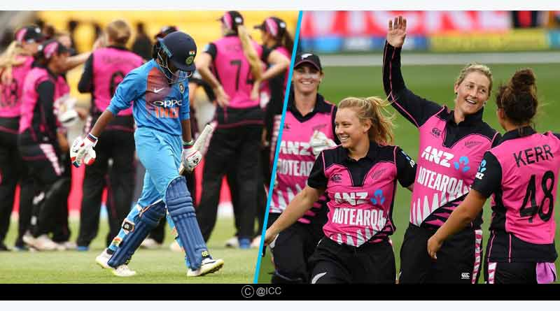 New Zealand Vs India women first T20
