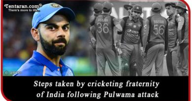 steps taken by cricketing fraternity of India following Pulwama attack