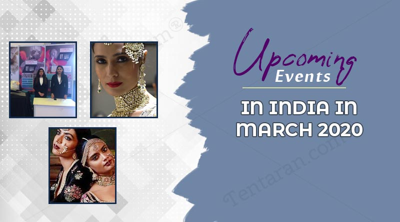 upcoming events in India in march 2020