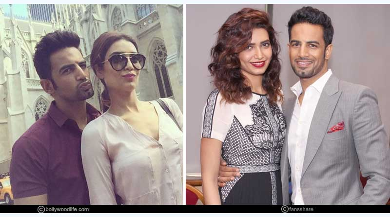 Upen Patel and Karisma Tanna
