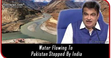 Water flowing to Pakistan stopped by India