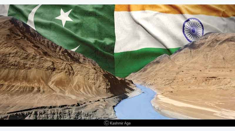 Water flowing to Pakistanstopped by India