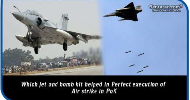 weapons used to execute airstrike on PoK