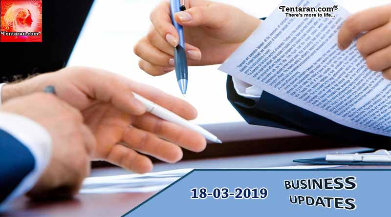 India business news headlines 18th March 2019