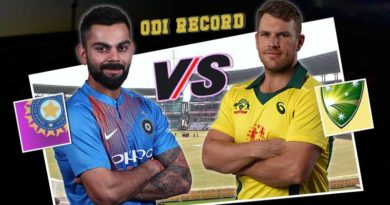 India Vs Australia ODI Record