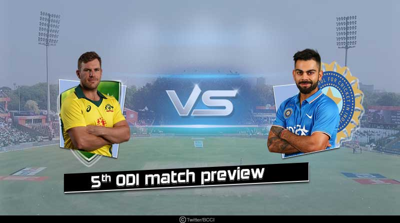India vs Australia 5th ODI match preview