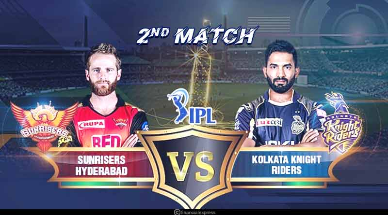 KKR VS SRH 2nd match