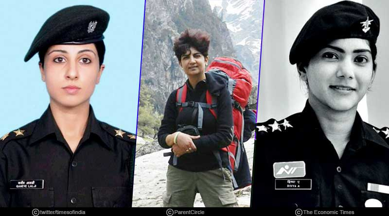 Brave Women in the Indian Army in Hindi
