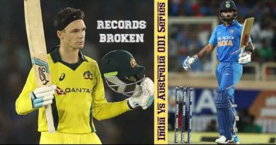 Records broken in India Vs Australia ODI Series: Scoring 300 plus for the 27th time, this was the first time 350 was chased down against India