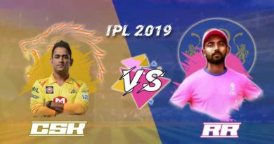 CSK VS RR 12th Match