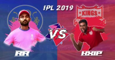 RR vs KXIP 4th Match