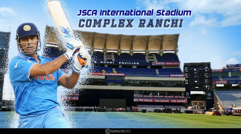 JSCA International Stadium Complex: Built in 2010, the JSCA Stadium has been a happy hunting ground for the Indian team in the limited matches it hosted