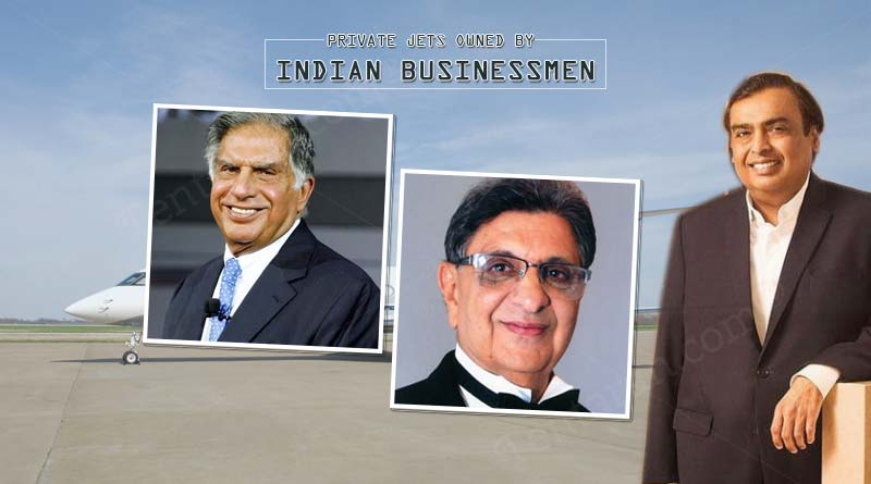 private jets owned by Indian businessmen