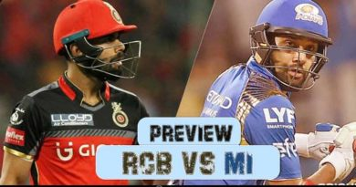 Royal Challengers Bangalore Vs Mumbai Indians Preview