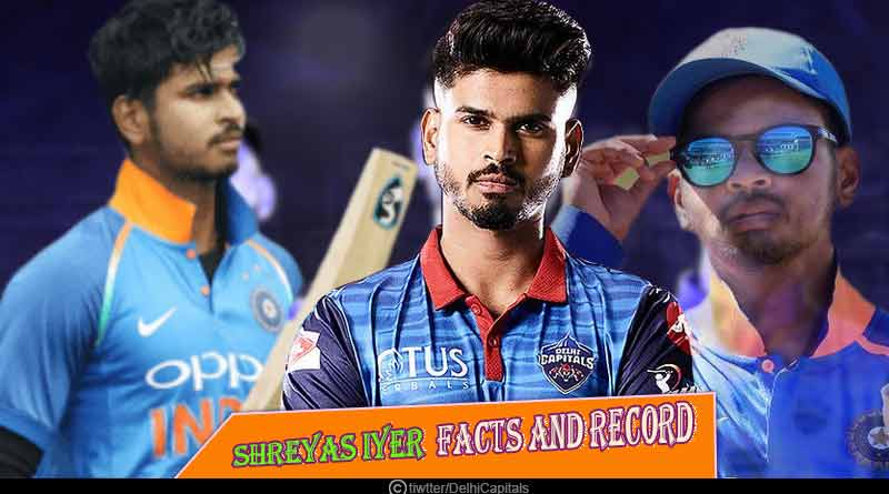 Shreyas Iyer facts and records