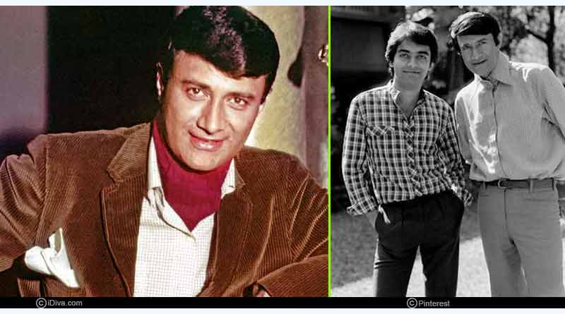 Sunil Anand and Dev Anand