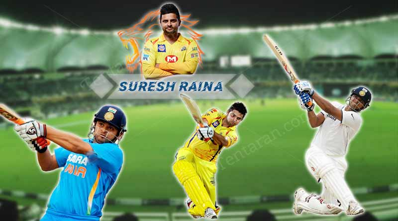 interesting facts about suresh raina