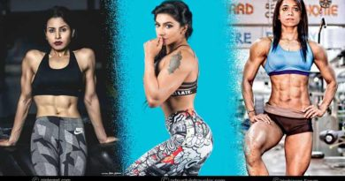 top female bodybuilders of India