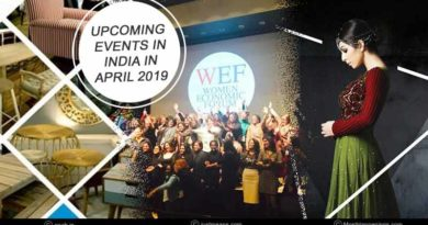 Upcoming events in India in April 2019