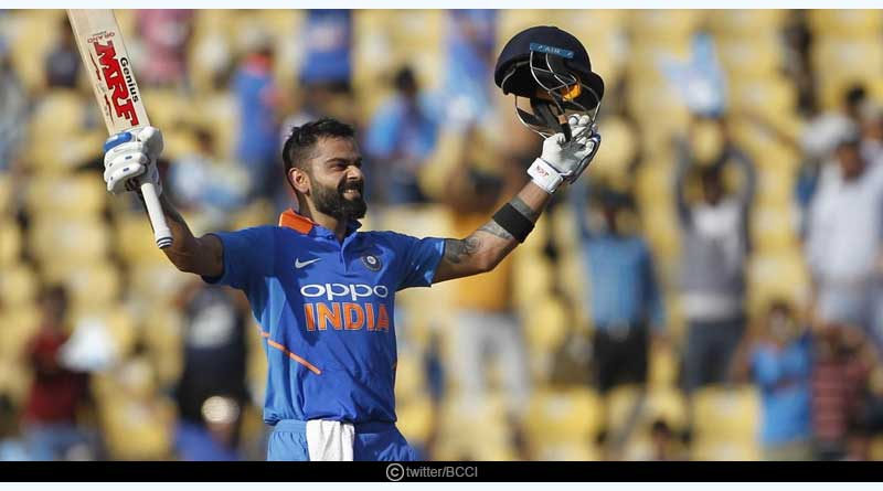 Virat Kohli Hits 40th ODI Century