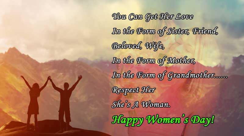 womens day quote images for mother