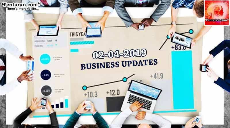 India business news headlines 2nd April 2019