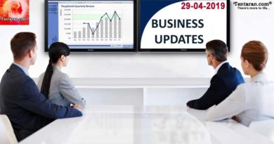 Latest India Business News 29th April 2019