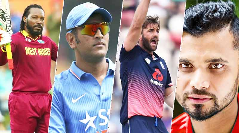 Cricketers who could be playing their last world cup