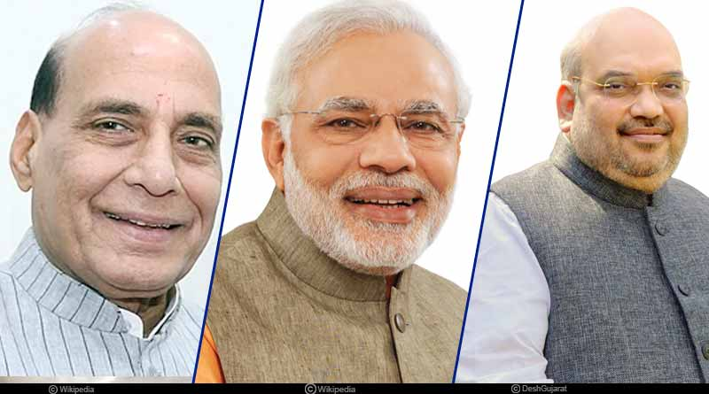 Who is contesting against top BJP leaders