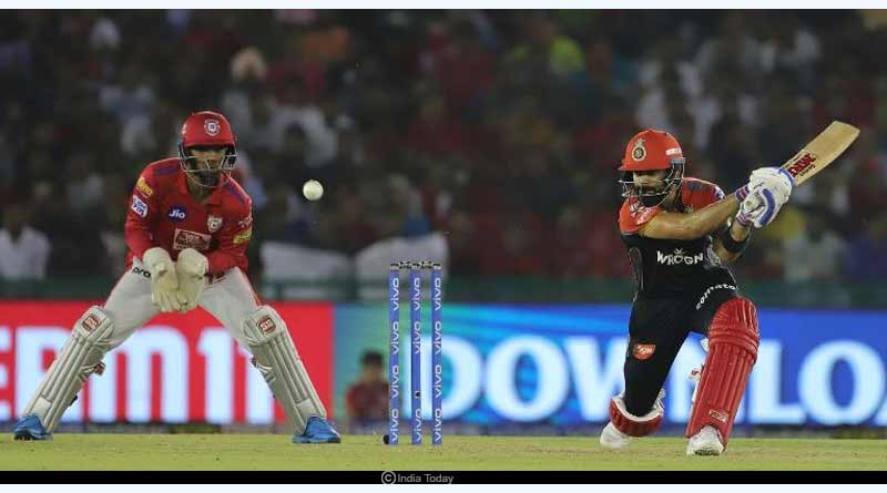 Today IPL match RCB vs KXIP Pitch report and Probable X