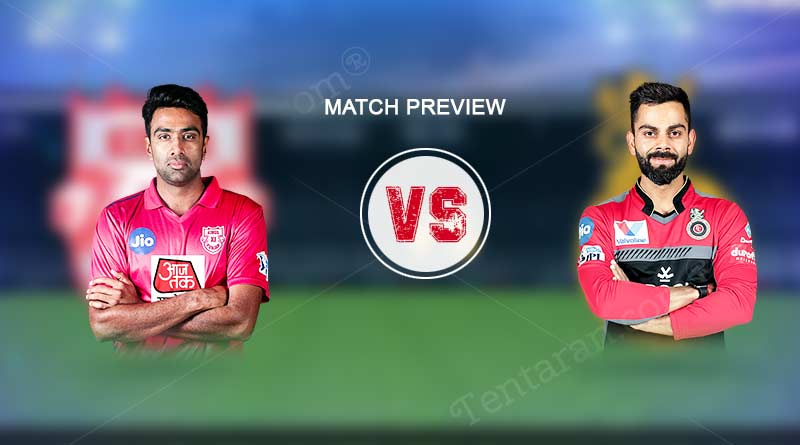 RCB vs KXIP match preview