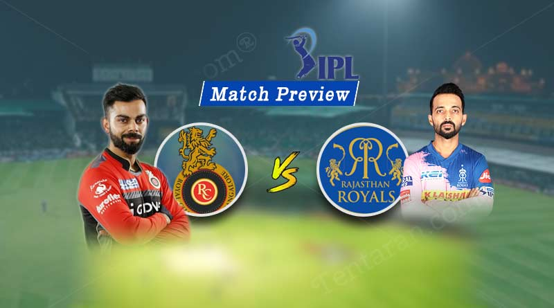 RCB vs RR 49th Match