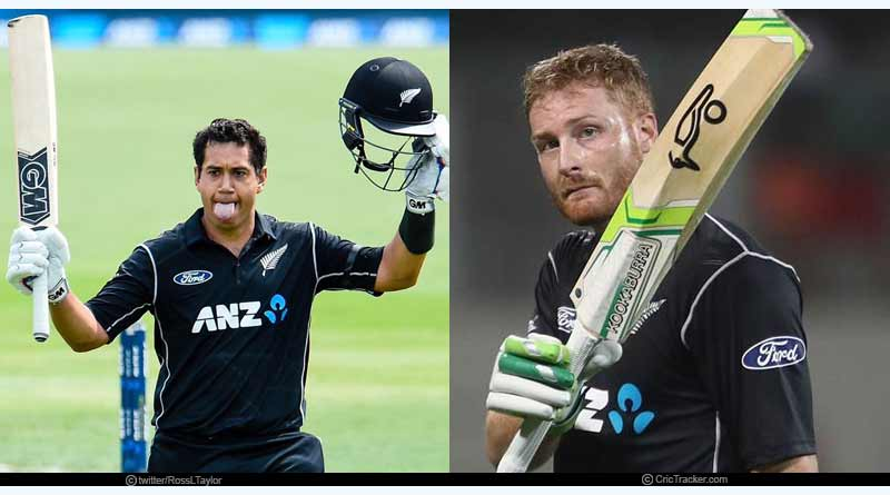 `New Zealand- Ross Taylor, Martin Guptill