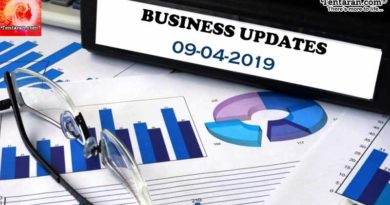 India business news headlines 9th April 2019
