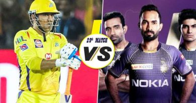 CSK vs KKR 29th Match