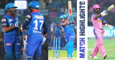 Yesterday IPL match RR vs DC match review