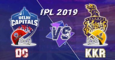 KKR vs DC 26th Match