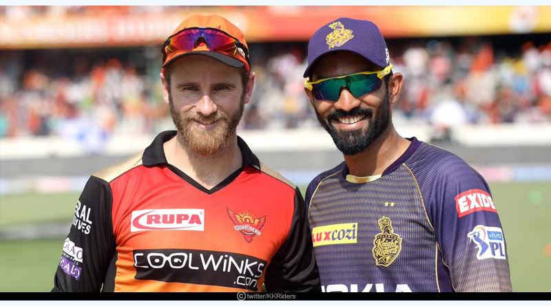 Yesterday IPL match result SRH vs KKR