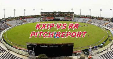 KXIP vs RR pitch report and Probable XI