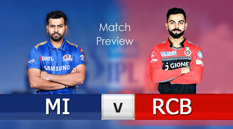 MI vs RCB 31st Match