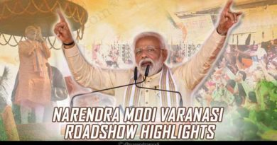 Highlights of Modi's roadshow in Varanasi