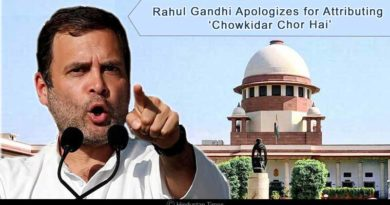 Rahul Gandhi apologizes for attributing 'Chowkidar Chor Hai'