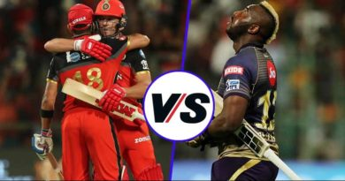 RCB vs KKR yesterday's match review