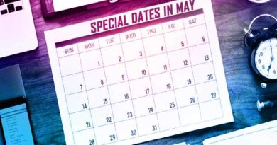 Special dates in May
