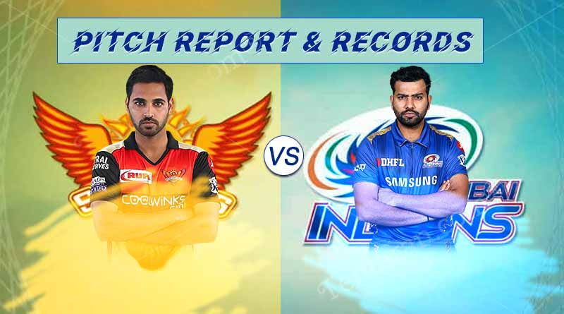 SRH Vs MI pitch report and records
