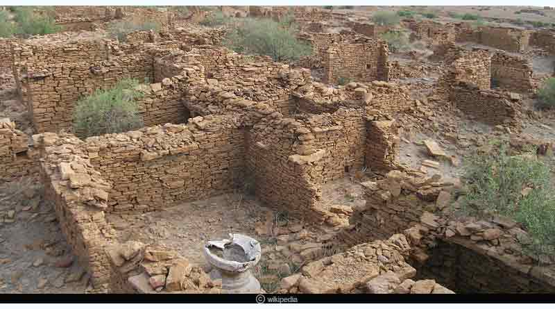 The Abandoned village of Kuldhara
