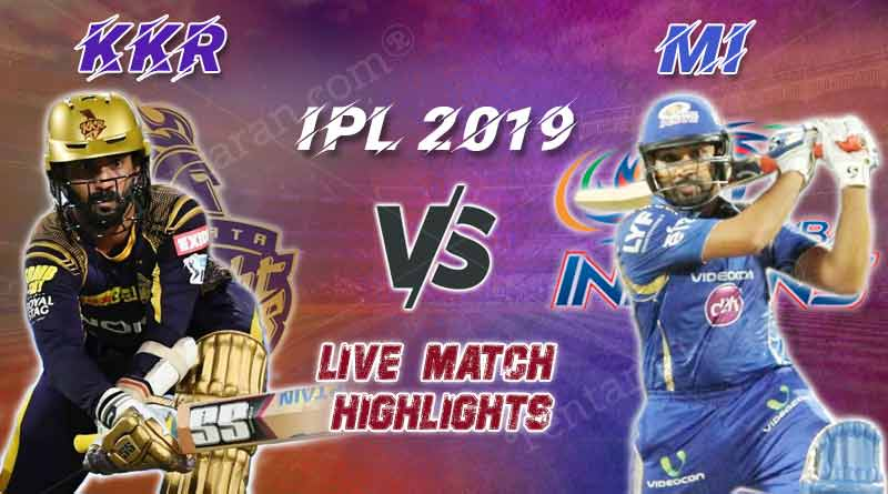 today ipl match live updates kkr v mi