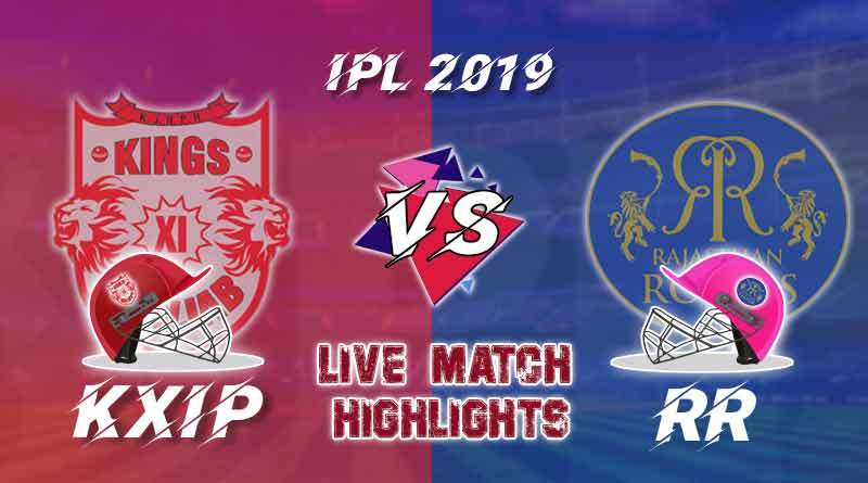 today ipl match live updates kxip v rr