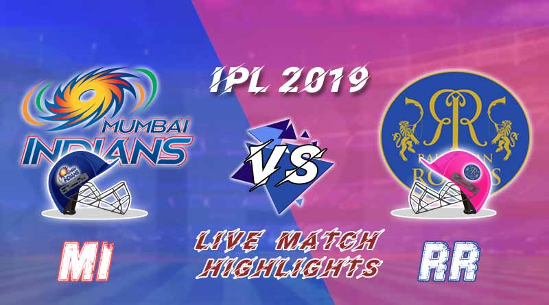 today ipl match live updates mi v rr